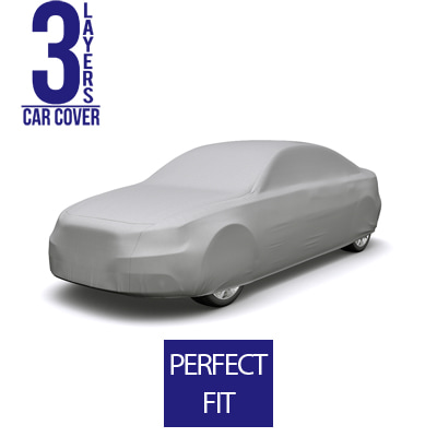 Full Car Cover for Audi A4 2013 Sedan 4-Door - 3 Layers
