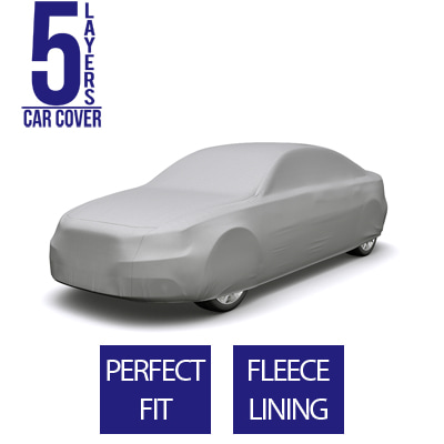 Full Car Cover for Tesla S 2013 Sedan 4-Door - 5 Layers