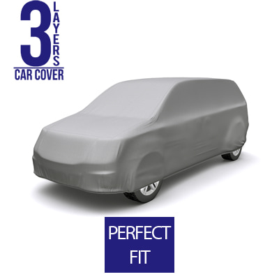 Full Car Cover for Ram H100 2019 Standard Passenger Van 4-Door - 3 Layers