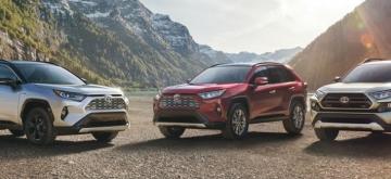 Toyota 2019 Lineup