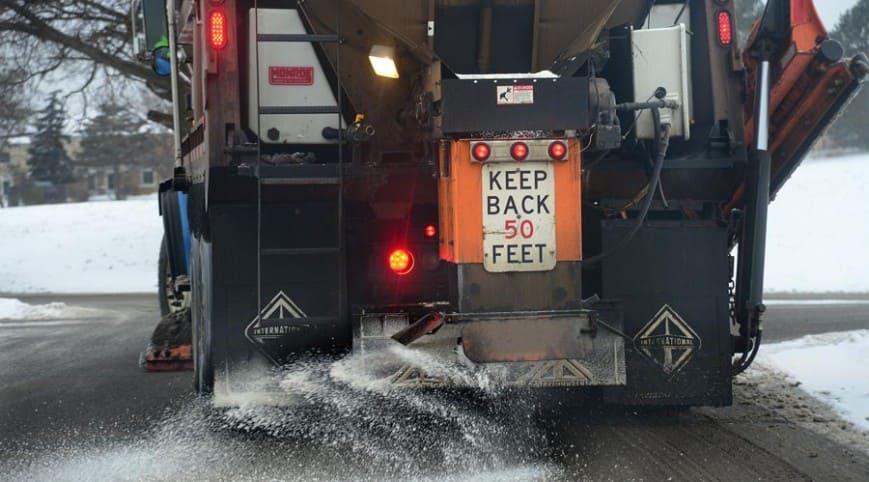 How Road Salt Effect Vehicles