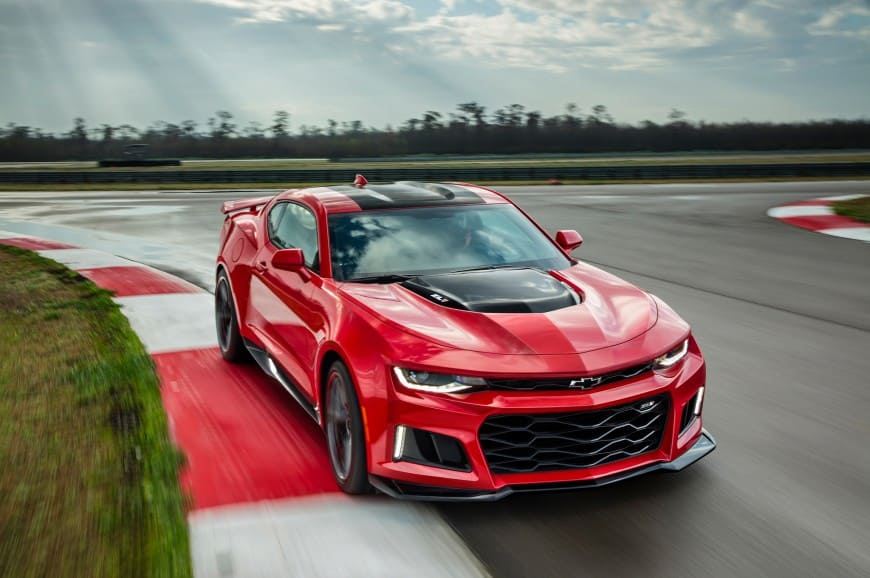 The Impressive Chevy Camaro ZL1 1LE Emerges OF The Portrait Of Perfection